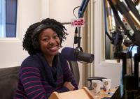 Alicia Olatuja of the Brooklyn Tabernacle Choir in the studio on Jan. 24, 2013