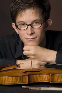 Violinist Korbinian Altenberger.