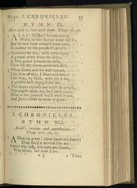 Page 53 in Olney Hymns, the verses that would become known as 'Amazing Grace.'