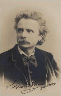 Edvard Grieg in an 1876 publicity shot