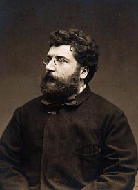 Portrait of Georges Bizet.