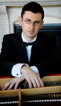 Pianist Ilya Poletaev.
