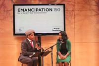 Isabel Wilkerson and Carl Hancock Rux