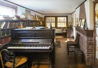 Charles Ives's studio at the American Academy of Arts and Letters.