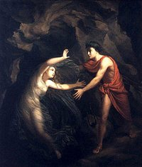 Christian Gottlieb Kratzenstein's 'Orpheus and Eurydice,' 1806.