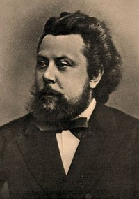 Modest Mussorgsky in 1870.