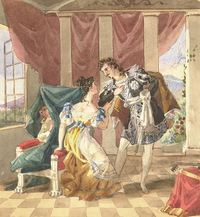 Scene from Mozart's 'The Marriage of Figaro'