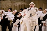 Richard Angas stars in a 2012 production of The Mikado at English National Opera
