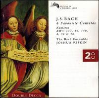 Bach: Six Favorite Cantatas - Joshua Rifkin, Bach Ensemble