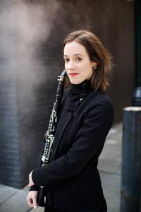 Clarinetist Romie de Guise-Langlois.