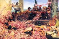 Lawrence Alma-Tadema's 'The Roses of Heliogabalus' (1888)