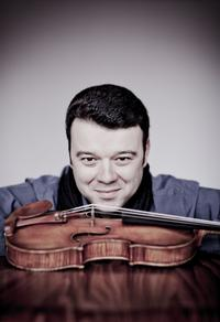 Violinist Vadim Guzman.