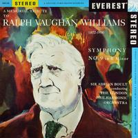 Vaughan Williams's Symphony No. 9 on Everest Records