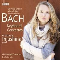 Anastasia Injushina plays Bach concertos