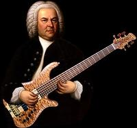 Bach plays bass