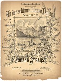 The Beautiful Blue Danube Waltz by Johann Strauss II.