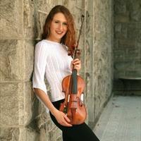 Violinist Bracha Malkin