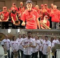 The brass ensembles of the St. Louis Symphony (top) and Boston Symphony (bottom)