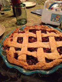 Cherry Latice Pie