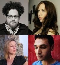Clockwise: David T. Little, Missy Mazzolli, Mohammed Fairouz and Paola Prestini