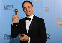 Mychael Danna wins the best original score award for 'Life of Pi' at the Golden Globes on January 13, 2013
