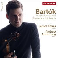 James Ehnes plays Bartok's Sonatas and Folk Dances