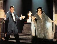 Freddie Mercury and Montserrat Caballé sing 'Barcelona'