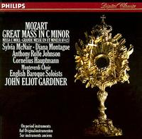 Monteverdi Choir/English Baroque Soloists, John Eliot Gardiner, conductor play Mozart's Mass