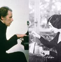 Glen Gould and Wanda Landowska.