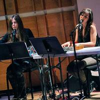 Laurel Halo and Julia Holter at 2013 Ecstatic Music Festival