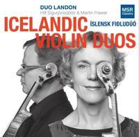 'Duo Landon: Icelandic Violin Duos'