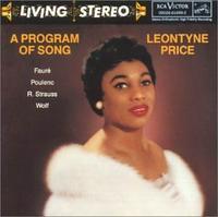 Leontyne Price, 'A Program of Song'