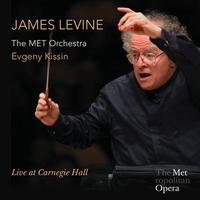 James Levine acknowledges the audience at Carnegie Hall on May 19, 2013