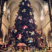 Christmas Tree at the Metropolitan Museum of Art