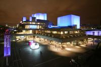 The National Theatre in London.