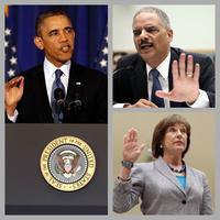 Barack Obama, Lois Lerner, Eric Holder