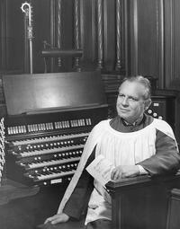 Organist-composer Richard Purvis.