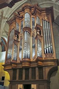 2008 Fritts organ at Sacred Heart Cathedral, Rochester, N.Y.