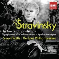 Simon Rattle conducts Stravinsky with the Berlin Philharmonic