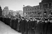 Sviatoslav Richter played 'The Well-Tempered Clavier' at Stalin's funeral in Moscow
