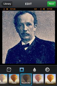A Strauss selfie.