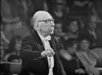 Igor Stravinsky conducting <em> The Firebird</em> 1965