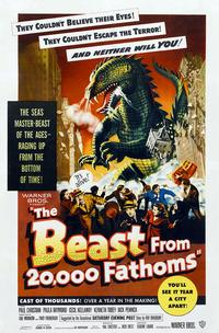 Poster for 'The Beast from 20000 Fathoms'