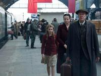 Geoffrey Rush, Emily Watson & Sophie Nélisse in 'The Book Thief'