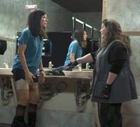 Sandra Bullock and Melissa Mccarthy in <em>The Heat</em>