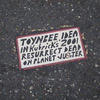 A Toynbee Tile at 9th and Market Streets in Philadelphia, PA