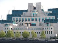 Headquarters of Britain's MI6