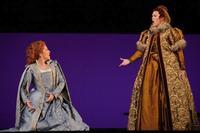 Joyce DiDonato and Katie van Kooten in 'Maria Stuarda'