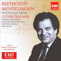 Perlman plays the Beethoven Violin Concerto