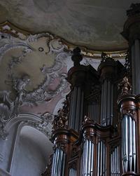 1761 J. A. Silbermann at Arlesheim Cathedral, Switzerland.